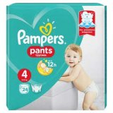 -25% na pelene Pampers Pants Carry
