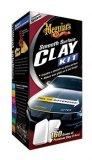 Komplet glina (glina 2 x 80g,brzi čistač -473ml, ručnik mikrofibra (40x60cm) Meguiars SMOOTH SURFACE CLAY KIT