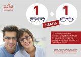 Monokl letak 1+1 gratis za kupovinu dioptrijskih naočala u vrijednosti od 1200 kn
