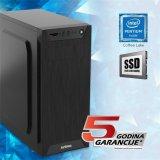 Avenio TopOffice Računalo Intel Pentium G5400 3.70GHz 8GB 240GB SSD DVDRW FreeDOS Intel UHD Graphics 610 P/N: 02241416