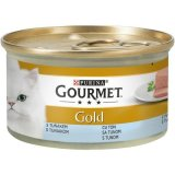 Gourmet Gold konzerva Tuna/Oslić mousse 85g