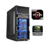 PC Računalo MagazinRS Ryzen (AMD 5 1400 3.2GHz, GTX 1050Ti 4GB, 8GB DDR4 RAM, HDD 1TB, 120GB SSD, DVD-RW)