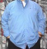 Košulja plava elegantna dugi rukav 7XL, 9XL i 10 XL