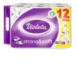 Toaletni papir Strong & Soft Violeta 12/1