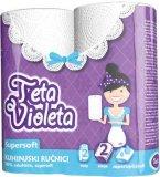 Kuhinjski ručnici 2 sl. Super Soft Teta Violeta 2/1