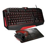 Tipkovnica Spirit of gamer pro mk3 pack series - us layout -usb (tipkovnica+miš)