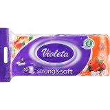 Toaletni papir pure&strong breskva ili white Violeta 10/1