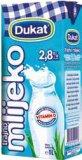 Trajno mlijeko 2,8% m.m. Dukat 1 l
