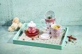 Pribor za čaj Tea Time Coral linija