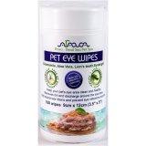 Arava Pet Eye Wipes, maramice za njegu područja oka, za pse i mačke, 100kom