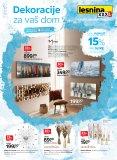 Lesnina katalog Dekoracija za Vaš dom 01.04.- 30.04.2020.