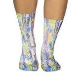 Wigglesteps neon lights, ženske čarape, višebojno