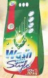 Deterdžent za rublje Wash&style 10 kg