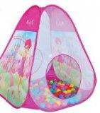 Šator s lopticama 95x95x100 cm