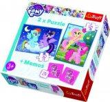 Igra puzzle i memo Frozen ili My little Pony