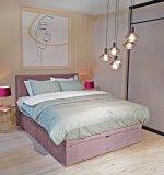 Krevet Doss Box Spring 140 x 200 cm