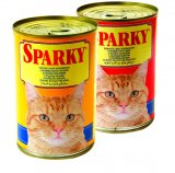 Hrana za mačke Sparky 415 g