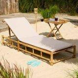 Ležaljka bambus s jastukom 1 kom