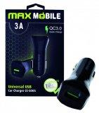 Auto adapter MaxMobile USB CC-S005 QC