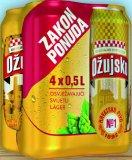 Pivo svijetlo Ožujsko limenka 4x500 ml