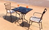 Vienna 2 stolica sa rukonaslonom 51x52x89 cm smeđi metal