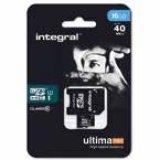 MicroSD Integral Ultimapro 16 GB C10 UHS-I U1