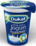 Tekući jogurt 2,8% m.m. Dukat 180 g