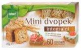 Mini integralni dvopek Naturel 120 g
