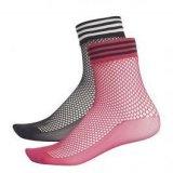 Adidas socks mesh 2pp, ženske kratke čarape, crna