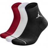 Nike everyday max jordan jumpman high-intensity, muške čarape, crna, jordan