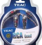 Kabel audio TEAC cinch RCA TE-RAY cinch razdjelnik 1xRCA (Ž) na 2xRCA (M )