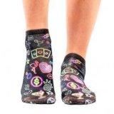 Ženske čarape Wigglesteps neon lights