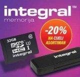 -20% na cijeli asortiman Integral memorija