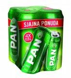 Pivo Pan, 4 x 0,5 l