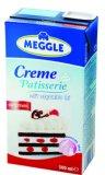 Biljno vrhnje za šlag Creme Patisserie 25% m.m. Meggle 500 ml