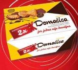 Keks preliven čokoladom duopack Domaćica 600 g