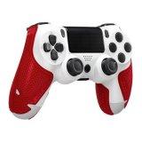 Dodatak za kontroler SONY Playstation 4, LIZARD SKINS controller grip, crveni