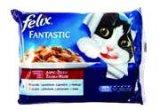Hrana za mačke mokra Felix 4x100 g