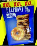 Krekeri Elephant slani, sezam 180 g