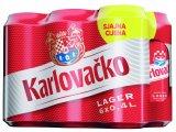 Karlovačko pivo 6x0,4 l