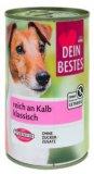 Hrana za pse teletina Dein Bestes 400 g