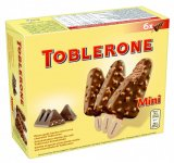 Sladoled mini Milka, Oreo ili Toblerone 6x50 ml
