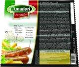 Hrenovke od mesa peradi Amadori 1 kg