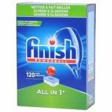 Tablete za strojno pranje posuđa Finish