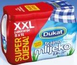 Trajno mlijeko Dukat 8x1 L