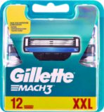 Gillette Mach3 patrone, 12kom