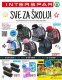 Interspar katalog Akcija Sve za školu 28.07.-21.09.2021.