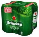Pivo Heineken 4x0,5 l