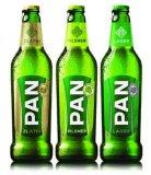 Pivo Lager 4,8% alk., Pilsner 5% alk. Pan, 0,5 l