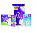 -30% na sve violeta toaletne papire, papirnate ručnike i papirnate maramice